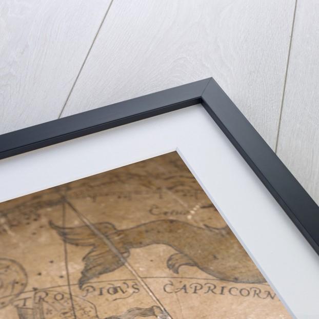 Cartouche below Eridanus by Joannes Oterschaden