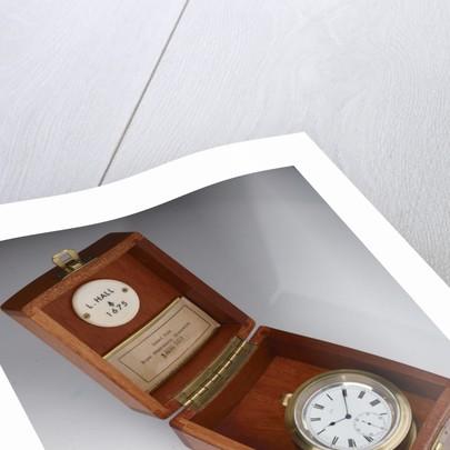 Deck watch in case by Leonard Hall