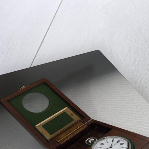 Deck watch in case by E. M. T.