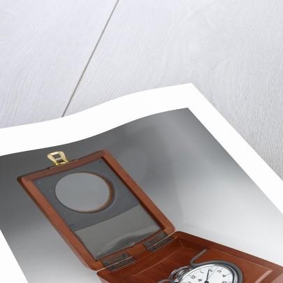 Deck watch in case by Elgin