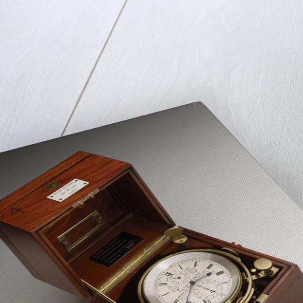 Marine chronometer in case by Victor Kullberg