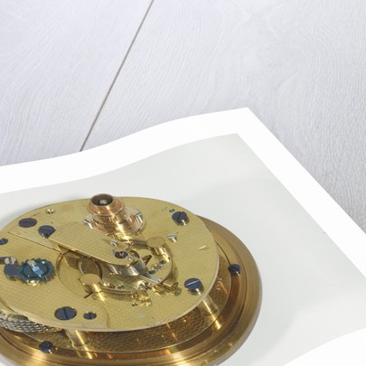 Marine chronometer, movement by Kullberg