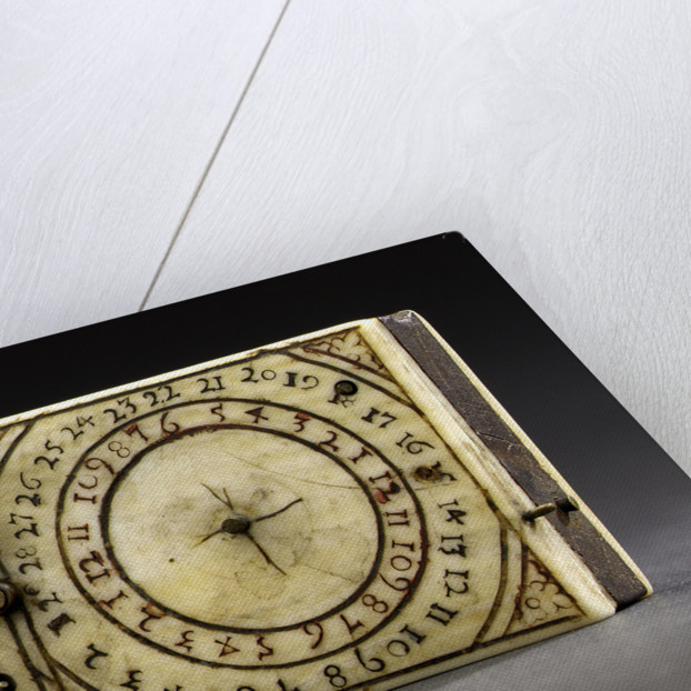 Diptych dial, leaf by Leonhard Andreas Karner