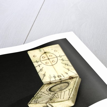 Diptych dial, leaves Ib and IIa by Jacob Karner