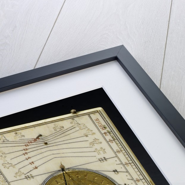 Diptych dial, leaves Ib and IIa by Paul Reinmann