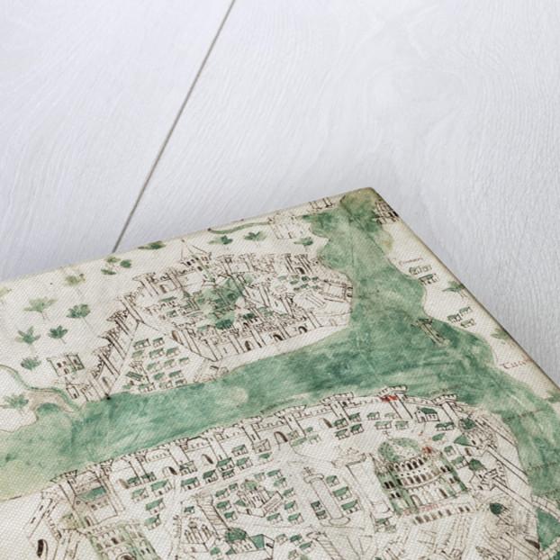 A chart of Constantinople by Cristoforo Buondelmonti