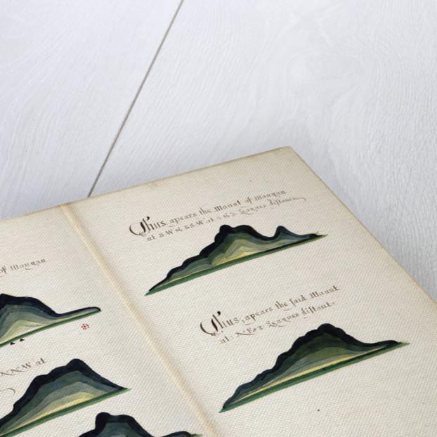 Views of Cerro Mongon by William Hack