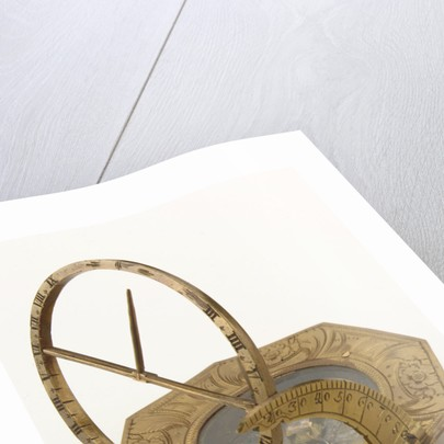Augsburg dial by Andreas Vogler