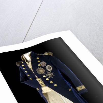 Royal Naval uniform: pattern 1795-1812 by unknown