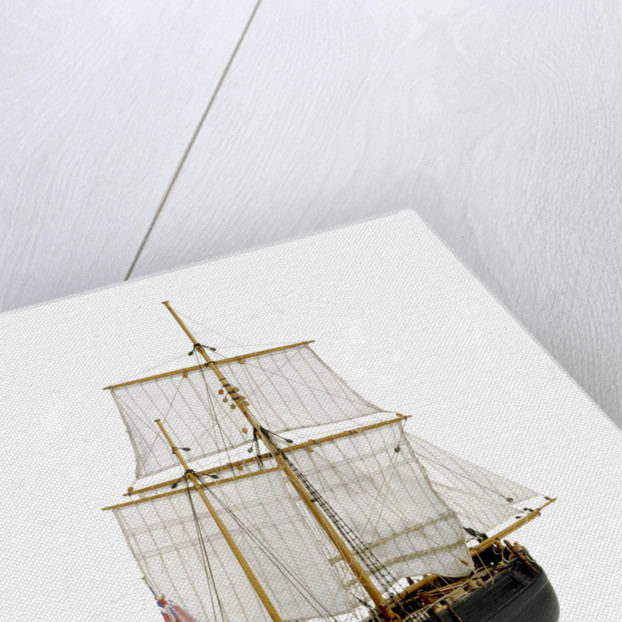 Full hull model, herring buss by Alistair Brown