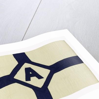 House flag, Avenue Shipping Co. Ltd by Adam & Lane & Neave Ltd.