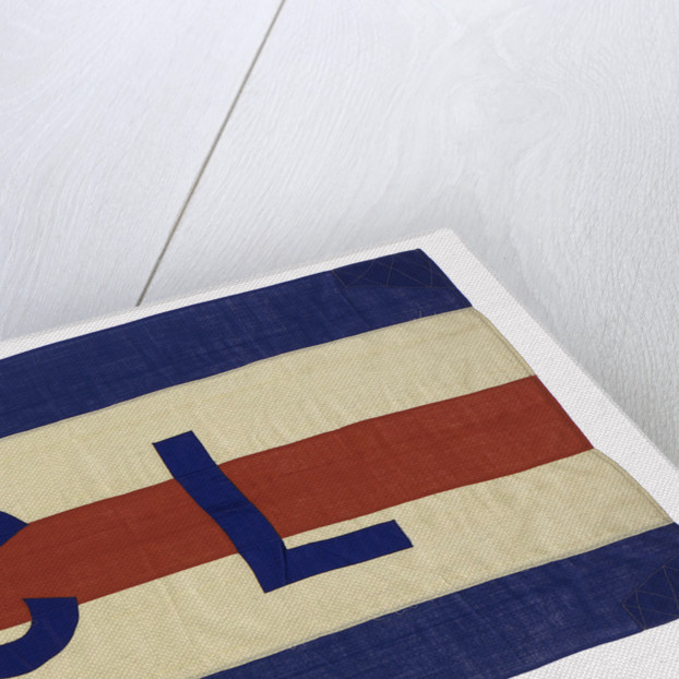 House flag, Coast Lines Ltd by unknown