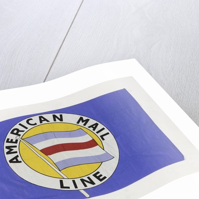 House flag, American Mail Line Ltd by Puget Sound Tent and Duck Co.