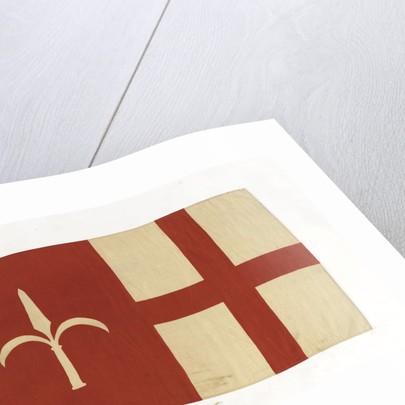 House flag, Italia Societa Anonima di Navigazione by unknown