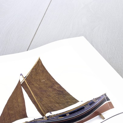 'Refuge', port broadside by George MacLeod