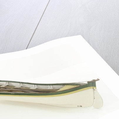 Full hull model, whaler, port stern quarter by unknown