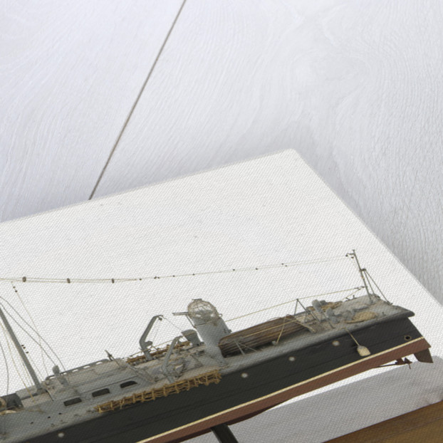 Full hull model, air-sea rescue launch, port broadside by unknown