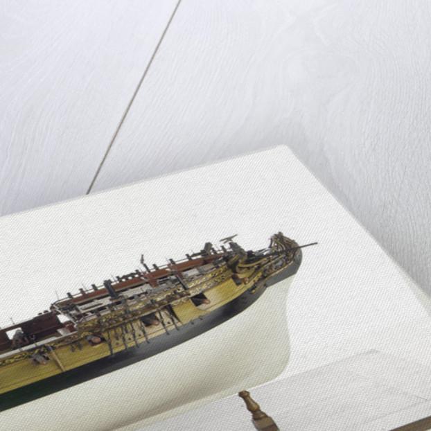 'Amazon', starboard broadside by unknown