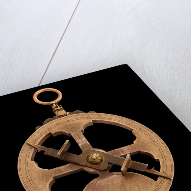 Mariner's astrolabe by Midhurst County Secondary School