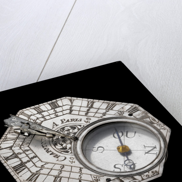 Butterfield dial for latitudes 40˚-60˚ north. by Chapotot