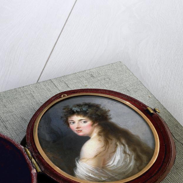 Lady Emma Hamilton as a Bacchante by John Dunn