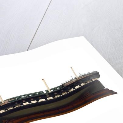 'Owen Glendower', port broadside by unknown
