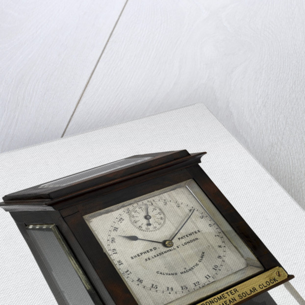 Slave dial chronometer, complete in case by Shepherd