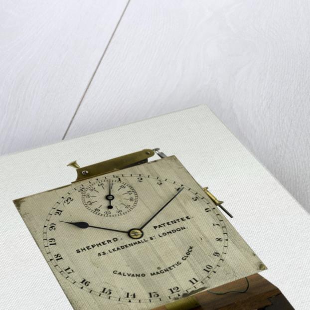 Slave dial chronometer, face by Shepherd