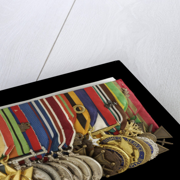 Medals awarded to Admiral of the Fleet Lord Cunningham of Hyndhope (obverse, left to right, MED2647-2667) by unknown