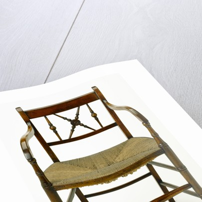 Wooden chair by unknown