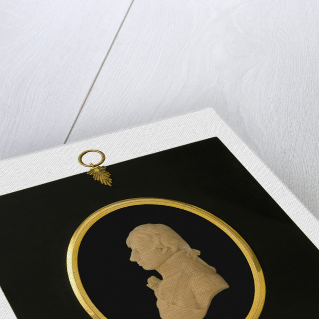 Portrait plaque depicting Vice-Admiral Horatio Nelson (1758-1805) by Catherine Andras