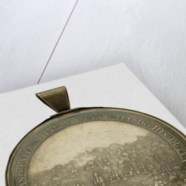 Boulton's Trafalgar Medal, reverse by Heinrich Kuchler