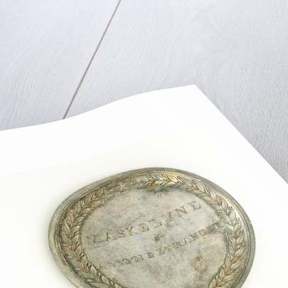Prize medal, Institute National des Sciences et des Arts, reverse by Rambert Dumarest