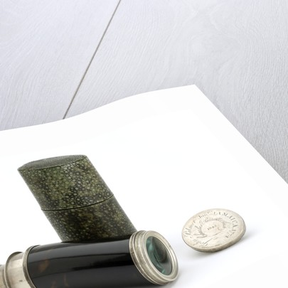 Pocket telescope with case by Nairne & Blunt