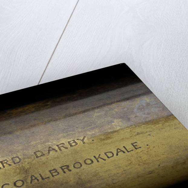 Pocket telescope - draw tube inscription by W. Callaghan