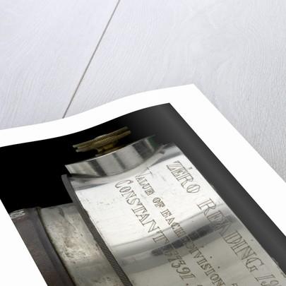 Rangefinder- inscription by Edward Kahler