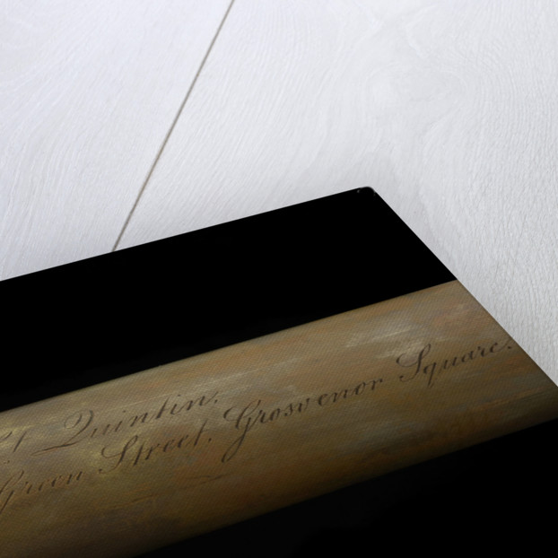 Naval telescope - inscription by Spencer Browning & Rust