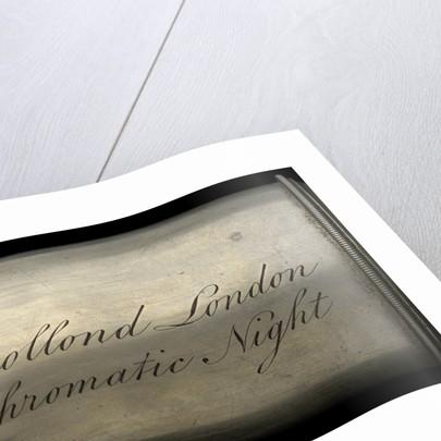 Night telescope - inscription by Dollond