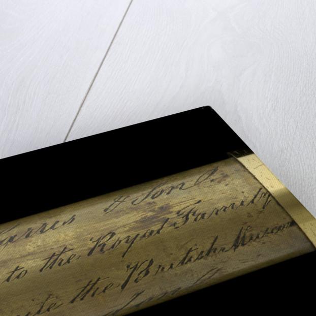 Walking stick telescope - inscription by Thomas Harris & Son
