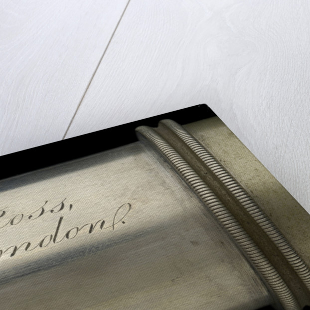 Naval telescope - inscription by Ross
