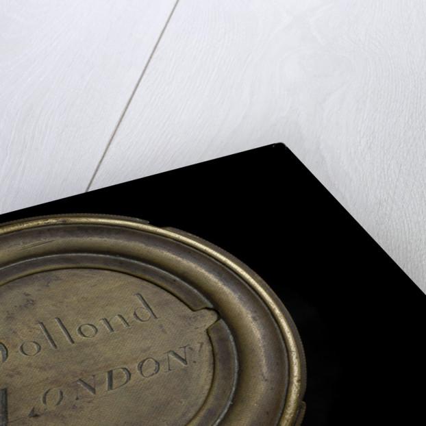 Polygonal telescope - inscription by Dollond