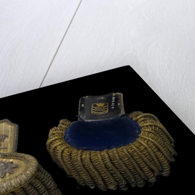 Royal Marines uniform: epaulettes by Galt & Son
