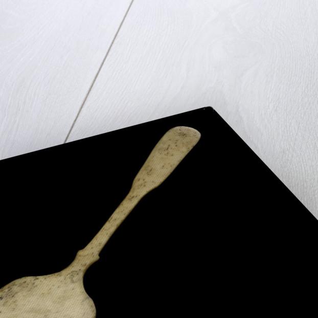 Whalebone spoon by unknown