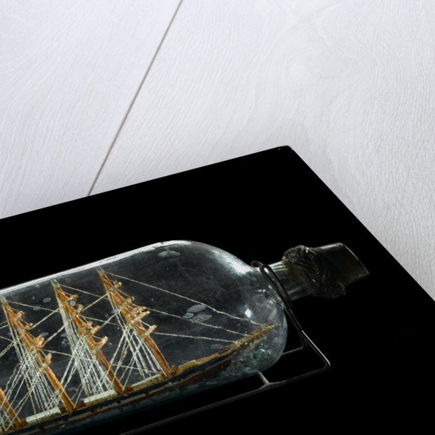 Ship model in a bottle by Robert Orr