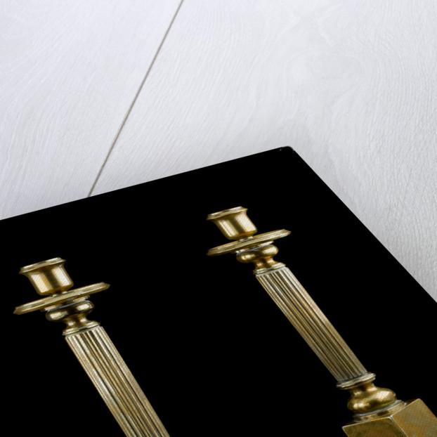 Candlesticks by Albert Edward Jew