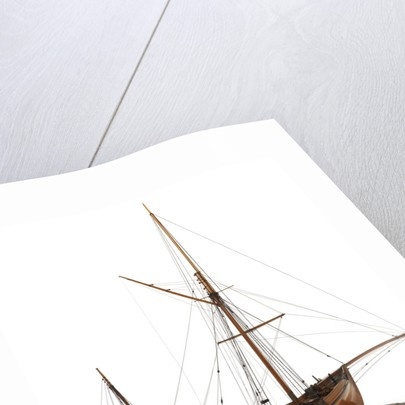A two masted sailing vessel 'Dandy' (circa 1825) by unknown