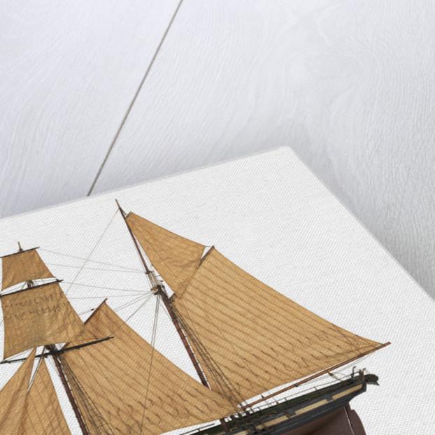 Yacht 'Flora', port broadside by unknown