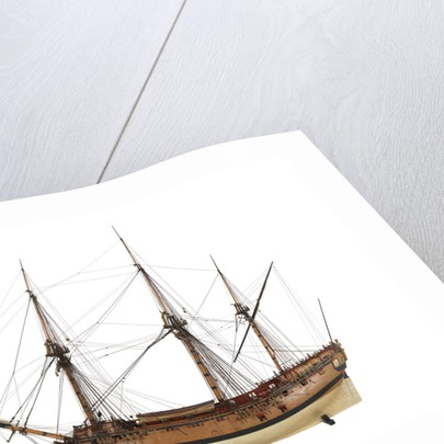 Ship of 24 guns, port broadside by unknown