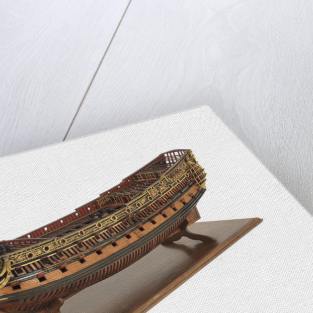 Navy Board, Skeleton model, ship of 90 to 94-guns by unknown