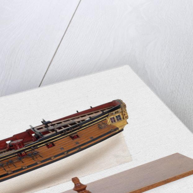 Sixth-rate sloop, port broadside by unknown